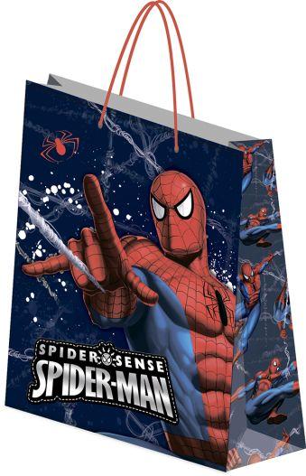 Пакет подарочный бумажный Spiderman 28х34х9 лам