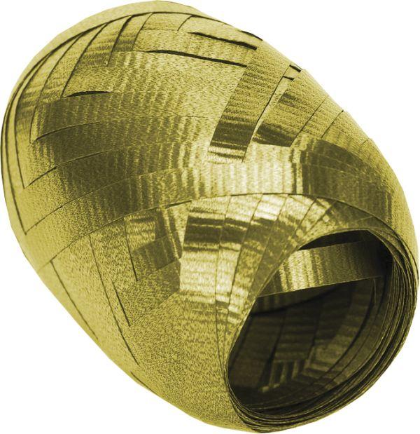 Лента упаковочная 2шт 5мм х 10м золотая