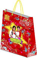 Пакет бумажный 33х43х10 High school Musical