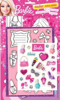Barbie. Набор наклеек 1