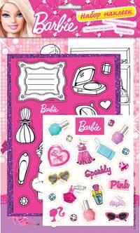 Barbie. Набор наклеек 2