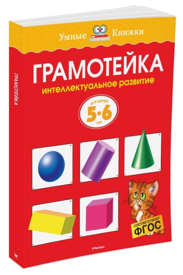 Грамотейка. Интеллектуальное развитие детей 5-6 лет (нов.обл.) Земцова О.Н.