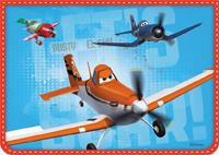 """Папка для тетр.А4,1отд.молн.""""Disney""""Самолеты2014"""