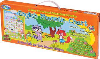 """Электронный плакат для дошкольников: """"Говорящая азбука-английский вариант"""". В комплекте: электронный плакат с картинками 43*63см, . Предназначен для и"""