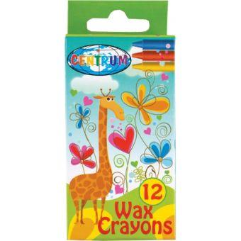 Мелки восковые  12  цветов Crazy  Girls