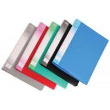 Папка - скоросшиватель с внутренним карманом 0,6мм цветная клип А; ассорти 5 цветов; формат А4.