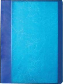 Папка с 20 п/э кармашками А4, толщина пластика 0,60 мм, серия SOFT TOUCH, цвет ассорти (зеленый, синий, фиолетовый, оранжевый)