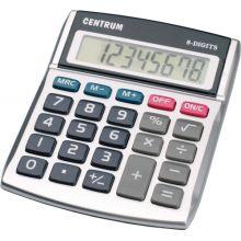 Калькулятор 8 - разрядный настольный с белым корпусом. Размер 130*110*23мм.