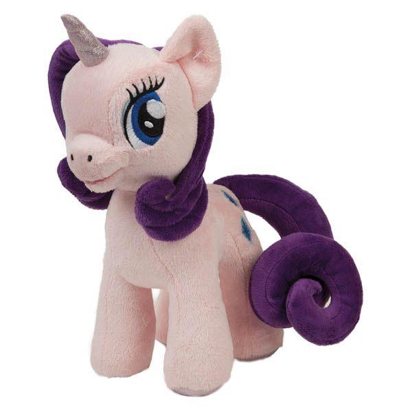 """Мягкая Игрушка """"Мульти-Пульти"""" Пони Рарити (М/Ф """"My Little Pony"""") Свет+Звук в пак. 23см"""