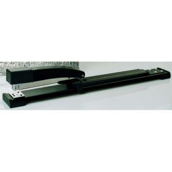 Степлер брошюровочный №24,26 на 20 листов, в металлическом корпусе с пластиковым механизмом для подачи скоб.