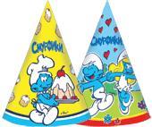 """Колпак бум.""""СМУРФИКИ"""",6шт, 2 диз в асс_Смурфики The Smurfs/Смурфики"""
