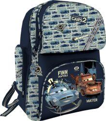 Рюкзак ортопедический, спинка - толстый поролон, усилена алюминиевой вставкой, корпус усилен подложкой из EVA 35х27х15 см Cars