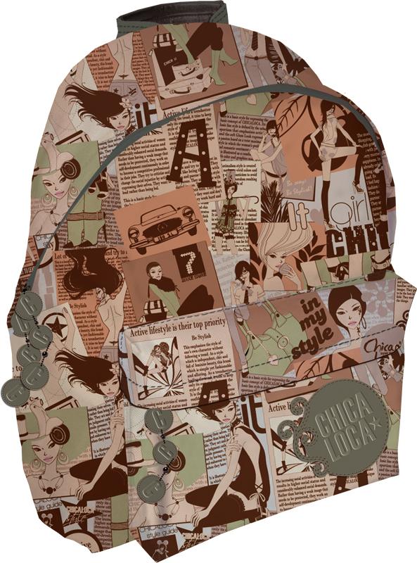 Рюкзак, 36 х 25 х 12 см Aztec