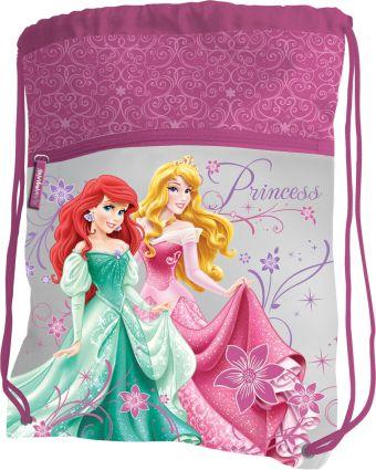 Сумка-рюкзак для обуви, с дополнительным карманом, размер 43 х 34 см, упак. 12/24/96 шт. Princess