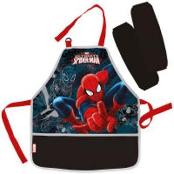 Фартук Spiderman с нарукавниками 51х44