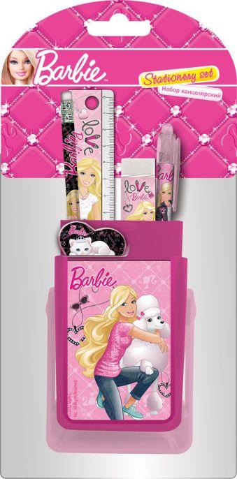 Набор канцелярский в двухстороннем блистере Barbie