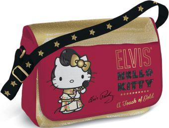 Сумка школьная. Размер24 х 33 х 12 см, упак. 4//12шт. Hello Kitty Elvis