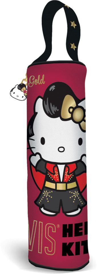 Пенал-тубус. Размер7 х 21 х 7 см, упак. 6//48шт. Hello Kitty Elvis