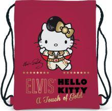 Сумка-рюкзак для обуви. Размер43 х 34 см, упак. 12/24/96шт Hello Kitty Elvis