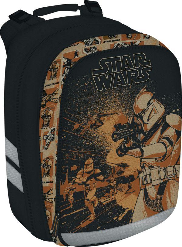 Рюкзак. Спинка - толстый поролон, усилена пластиком; дно и стенки из EVA. Размер 38 х 28 х 16 см, упак. 4 шт. The Star Wars (Star wars)