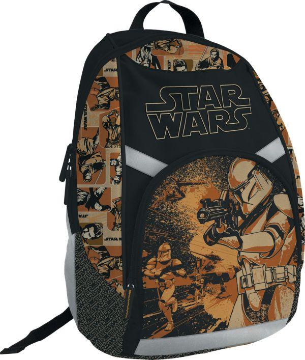 Рюкзак. Спинка поролон. Размер 39 x 29 x 13 см, упак. 3//12шт. The Star Wars (Star wars)