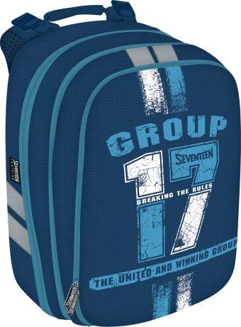 Рюкзак. Спинка - толстый поролон, усилена пластиком; дно и стенки из EVA. Размер 38 х 28 х 16 см, упак. 4 шт. Seventeen