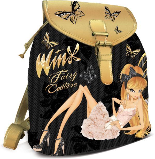 Рюкзак. Размер36 x 30 x 14 см, упак. 3//12шт. Winx Fashion (Winx Fairy Couture)