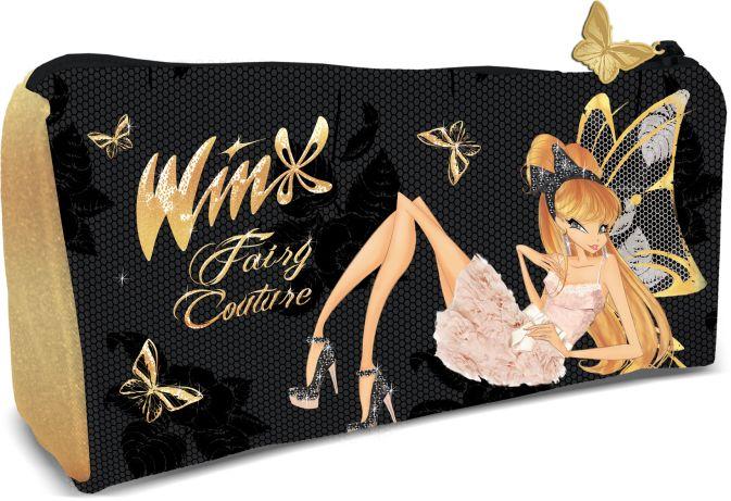 Косметичка с внешним отделением. Размер 9 (16) x 20 x 5 см, упак. 12/24/144 шт. Winx Fashion (Winx Fairy Couture)