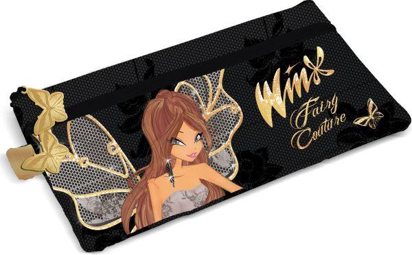 Косметичка с двумя отделениями. Размер 11 х 21 х 1 см, упак. 12/24/144 Winx Fashion (Winx Fairy Couture)