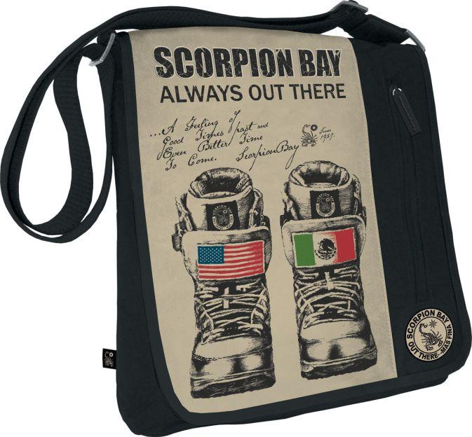 Сумка. Размер 35 х 33 х 6 см, упак. 4//12 шт. Scorpion Bay