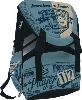 Рюкзак. Размер 42 х 28 х 15 см, упак. 3//12 шт. Seventeen