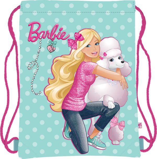 Мешок для обуви, размер 34x43, упак.12/24/96 Barbie