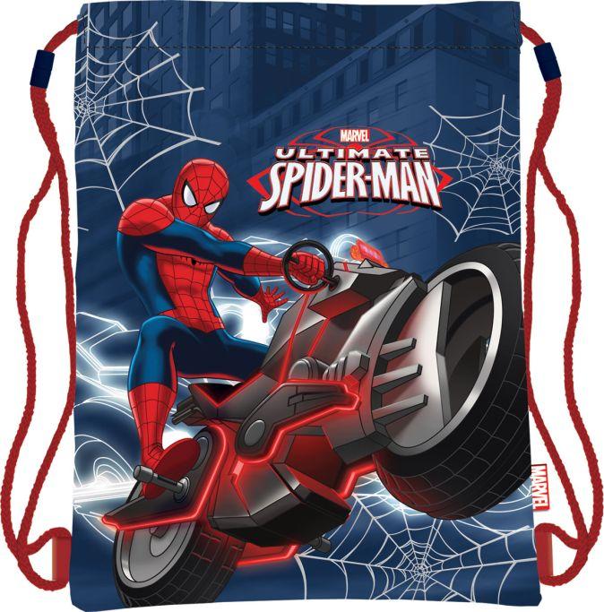 Мешок для обуви, размер 34x43, упак.12/24/96 Spider-man