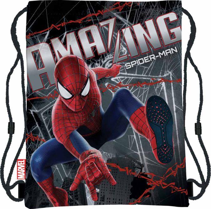 Сумка-рюкзак для обуви Размер 43 х 34 см Упак. 12/24/96 шт Amazing Spider-man 2