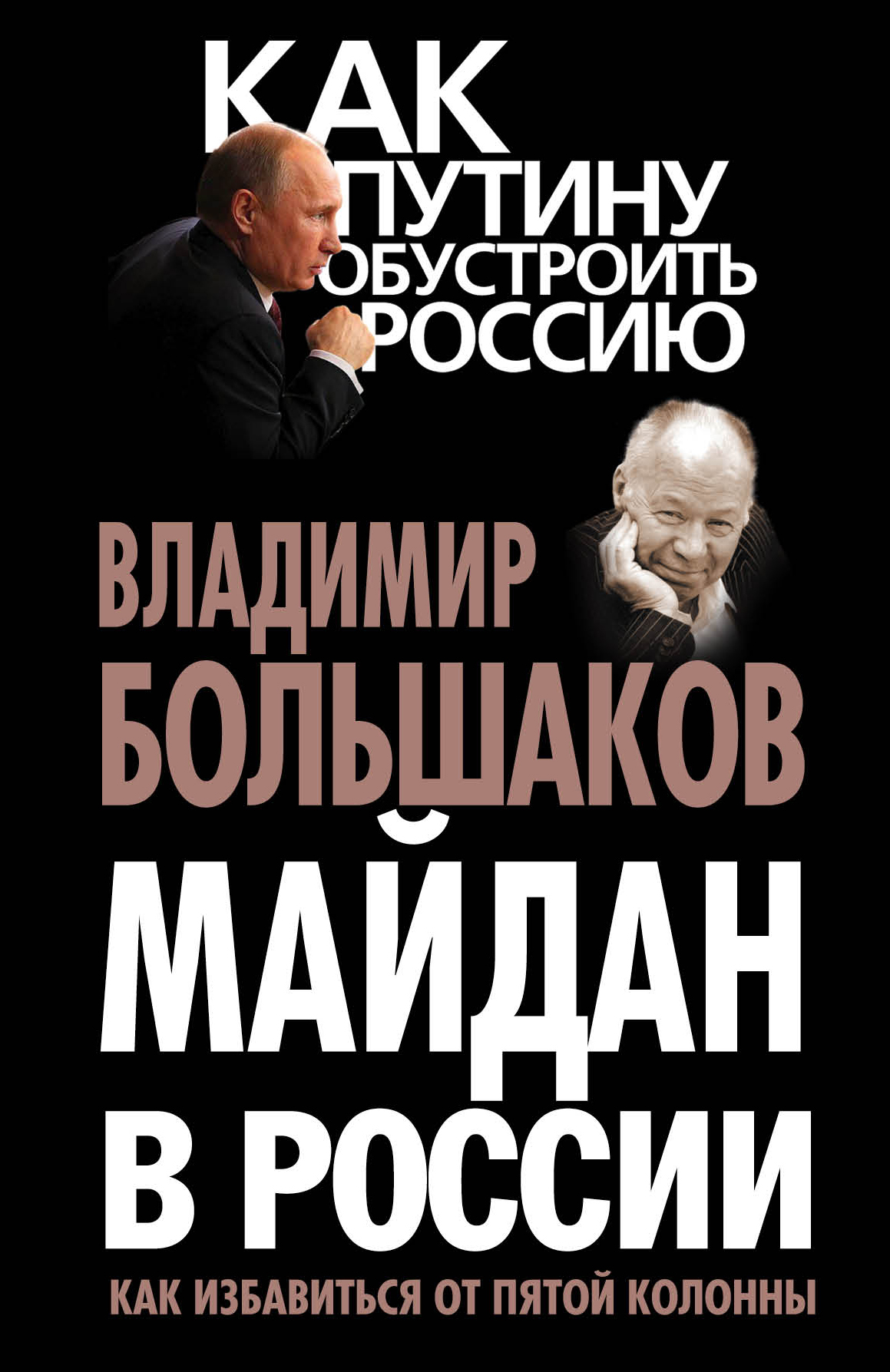 Большаков В.В. Майдан в России? Как избавиться от пятой колонны книги почтой дешево по украине