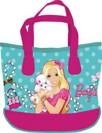 Сумка, размер 21x27x10, упак.6//48 Barbie