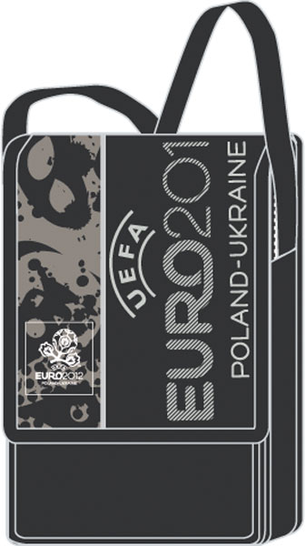Сумка с карманами размер 11x16,5x4,5 см EURO2012