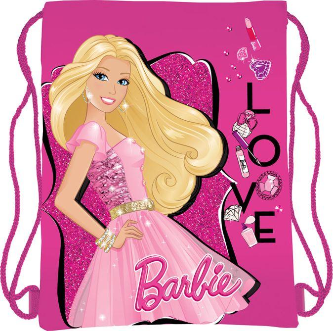Сумка-рюкзак для обуви Размер 43 х 34 см Упак. 12/24/96 шт. Barbie