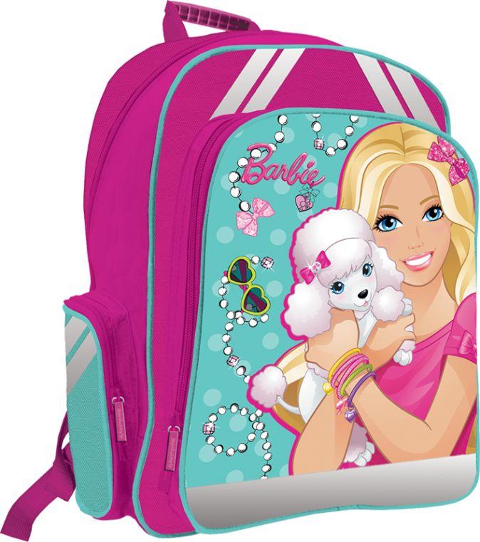 Рюкзак ортопедический с EVA-спинкой. Размер38 х 36 х 16 см, упак. 3//12шт Barbie