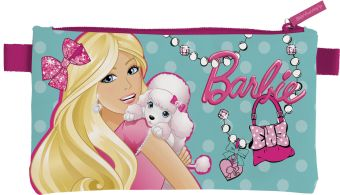 Пенал. Размер 11,5 х 22 х 1 см, упак. 12/48/144 шт. Barbie