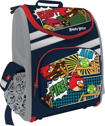 Рюкзак раскладной для путешествий Размер 35 х 31 х 14 см Упак. 3 шт. Angry Birds