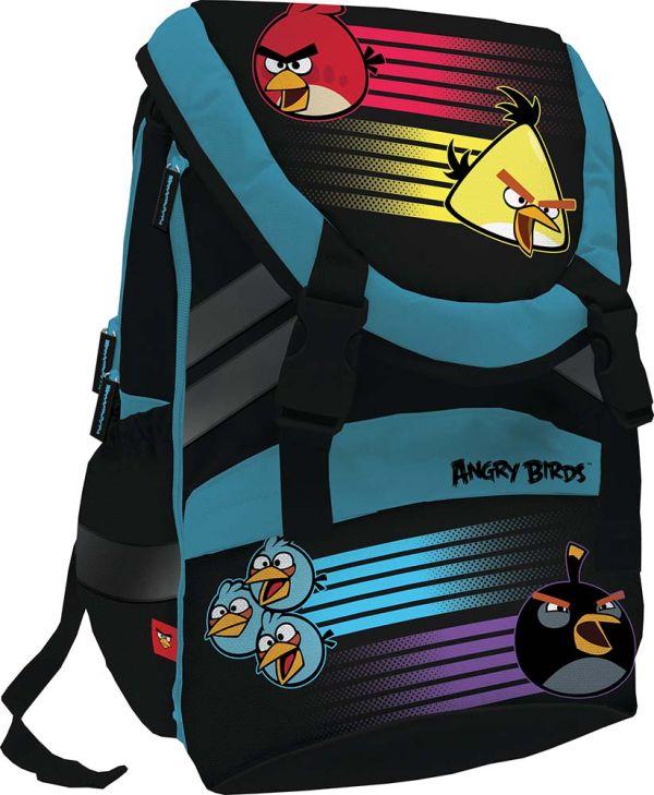 Рюкзак спортивный Размер 42 х 28 х 15 см Упак. 3//12 шт. Angry Birds
