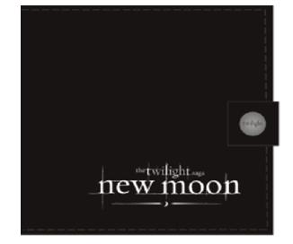 Кошелек 10x10x0,5New moon