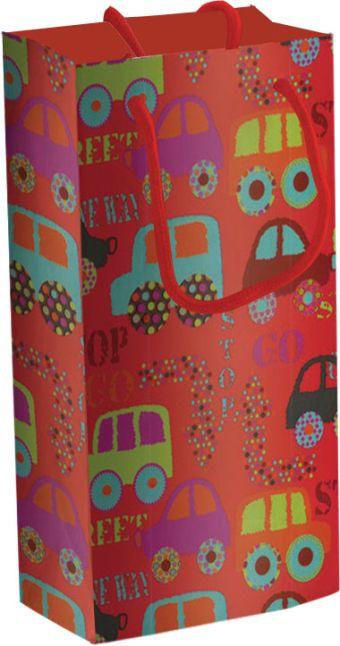 Пакет бумажный подарочный, размер 18 х 21 х 8,5 см, эффект: глянцевая ламинация, плотность бумаги 128 гр/м2 упак. 12/360/720 шт. Regalissimi