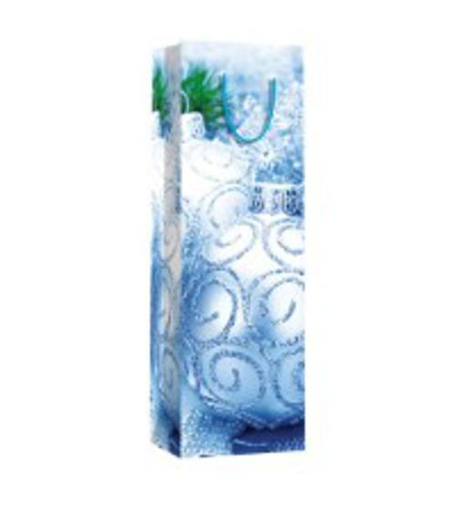 Пакет бумажный бутылочный, размер 12 x 36 x 9,5 см, эффект: ламинация упак. 12/300/600 шт Regalissimi