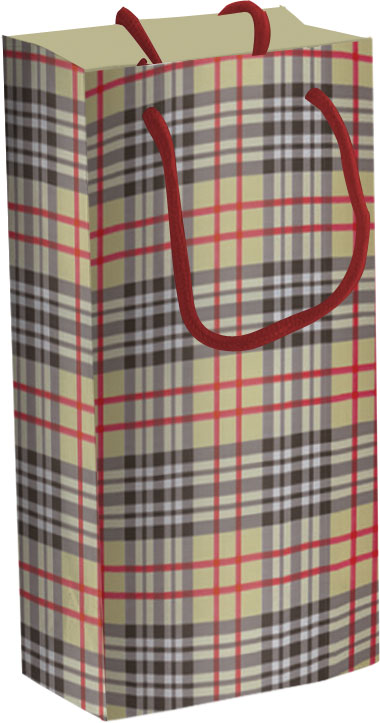 Пакет бумажный подарочный, размер 18 х 21 х 8,5 см, эффект: матовая ламинация, плотность бумаги 128 гр/м2 упак. 12/360/720 шт.Regalissimi