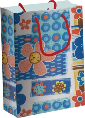 Пакет бумажный подарочный, размер 33 х 43 х 10 см, эффект: глянцевая ламинация, плотность бумаги 157 гр/м2 упак. 12/120/240 шт. Regalissimi