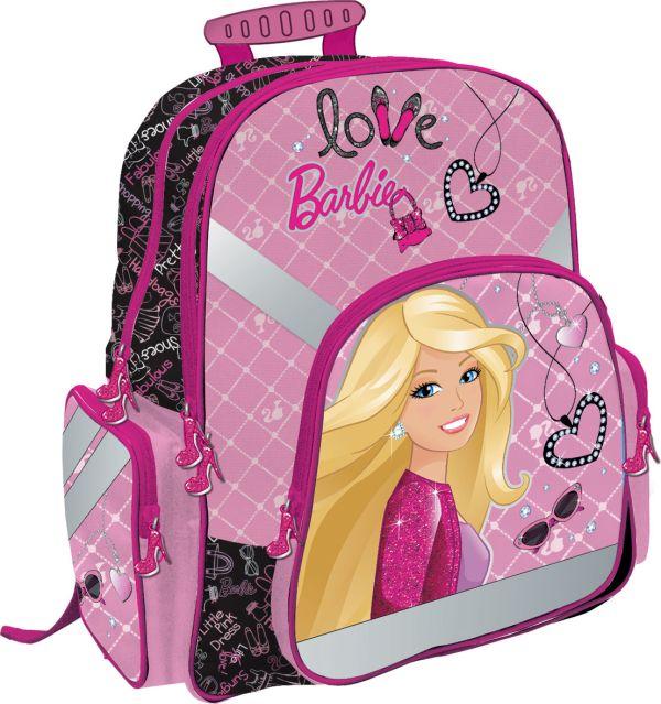 Рюкзак ортопедический с EVA-спинкой. Размер38 х 36 х 18 см, упак. 3//12шт. Barbie