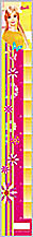 Ростомер 90*690 рельеф пластик  Barbie-DH