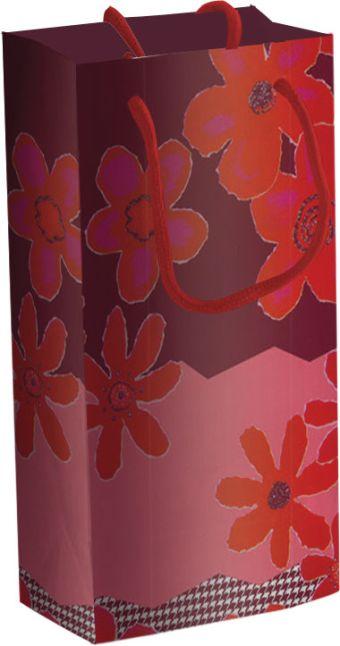 Пакет бумажный подарочный, размер 18 х 21 х 8,5 см, эффект: матовая ламинация, плотность бумаги 128 гр/м2 упак. 12/360/720 шт. Regalissimi